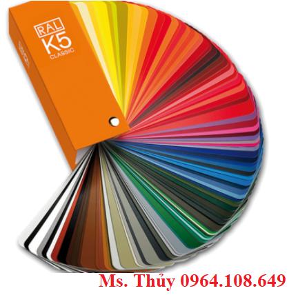Quạt so màu Ral k5