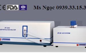 Máy phân tích phân bố kích thước hạt Model BT-2003 Bettersize